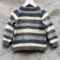 Brother / Brormand Sweater pattern by PixenDk - mediumhair. Brother / Brormand Sweater pattern by PixenDk – mediumhaircut Boys Knitting Patterns Free, Baby Sweater Patterns, Baby Cardigan Knitting Pattern, Knit Baby Sweaters, Boys Sweaters, Knitting For Kids, Knitting Sweaters, Knitting Ideas, Image