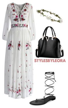Untitled #388 by spoiledb25 on Polyvore featuring polyvore, fashion, style, Chicwish, Michael Kors, Accessorize and clothing