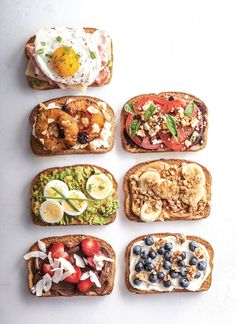 Avocado Toast Alternatives – 7 Better Breakfast Toast Toppings Avocado is commonly a large, often Quick And Easy Breakfast, Healthy Breakfast Recipes, Brunch Recipes, Keto Recipes, Healthy Snacks, Healthy Recipes, Healthy Breakfasts, Avocado Toast, Breakfast Toast