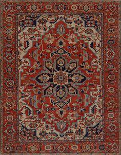 Matt Camron Rugs & Tapestries Antique Persian Serapi Rig
