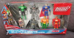 Description: Justice League All Stars 7 Figure Included Ages 4 and Up/  Item ID: 101 TARGET