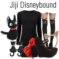 """Jiji Disneybound"" by capamericagirl21 on Polyvore"