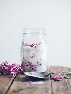 Something Sweet: Lilac Sugar via The Sweetest Occasion | O My Holy Helen, I can't believe I haven't made this already.