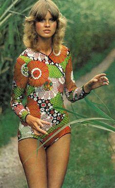 Beshka by Gianni Penati for Vogue, 1971.