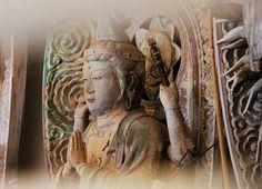 One of the 33 statues of Kannon at Dainichiji Temple, Tokushima, Shikoku.