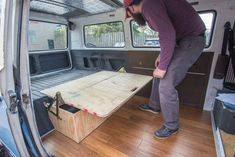 """We created the internet-renouned Z-Bed this week. After months and months of searching for a used Westy Z-Bed without any luck, we decided to bite the bullet and do it ourselves. Z-Bed Kit We purchased the hinge kit from Bus Depot. It comes with """"directions"""" that really aren't that helpful, they're also not converted into inches. If you did use all of the measurements, you'd quickly realize that the plans don't really add-up (maybe we were missing something!?). Also, the kit is only ..."""