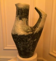Grand pichet de Jacques BLIN.  #jacquesblin  #ceramique  #ceramique50  #frenchceramic  #paulbertserpette  #forsale