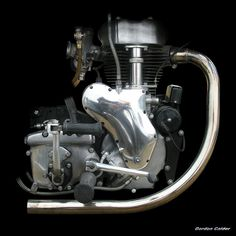 N0 83: CLASSIC VELOCETTE MAC ENGINE 500cc 1952 | by Gordon Calder