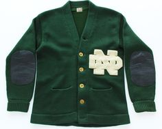 40's Notre Dame Jacket | old photos for Reminiscing for Alzheimer's and dementia
