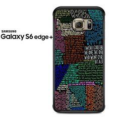 Avenged Sevenfold Lyrics Quotes Samsung Galaxy S6 Edge Plus Case