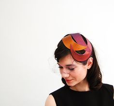 50s cocktail hat. To see the source оf this item click on the picture. Please also visit my Etsy shop LarisaBоutique: https://www.etsy.com/shop/LarisaBoutique Thanks!
