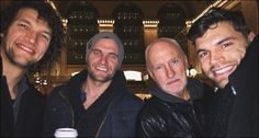 """Luke (far left) and Joel (far right) from """"For King & Country"""" with their brother and dad (middle right) Love Mom, First Love, King And Country, Rock Concert, Choose Joy, Love And Respect, Today Show, Christian Music, Music Bands"""