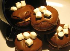 Hot Cocoa Whoopie - Chocolate/Marshmallow