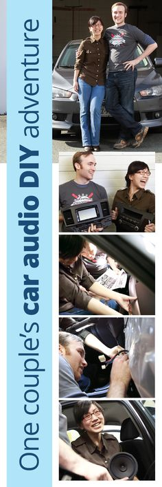His and her car stereo DIY: A couple tackles an audio installation in their vehicle.