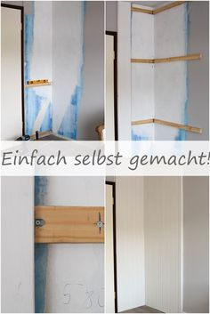 Attraktiv Wandverkleidung DIY Aus Holz Mit Nut Und Federbretter Kreidefarbe Von  Painting The Past Renovierung Vertaefelung Beadboard