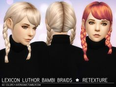 Clay hair retextures at Aveira Sims 4 via Sims 4 Updates