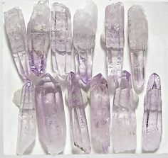 Purple Amethyst Crystals Jewelry Points for by FenderMinerals,