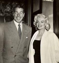 Marilyn and Joe DiMaggio, 1953.
