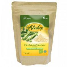 Супер храни : Био суров грахов протеин на прах 250 г Aloka
