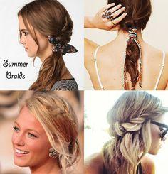 A few summer braids