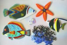 Tomilyn Clark -- Fused Glass