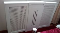 WHITE-RADIATOR-COVER-EXPANDS-CONTRACTS-DIFFERENT-SIZES-HEATING-MODERN-DISPLAY