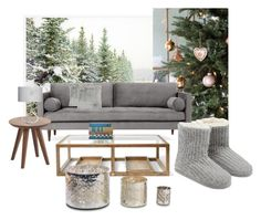 """Untitled #144"" by wakawaka on Polyvore featuring interior, interiors, interior design, home, home decor, interior decorating, Pottery Barn, Joybird, A by Amara and M&Co"