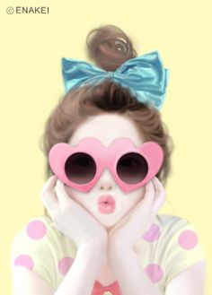 ImageFind images and videos about girl, cute and pink on We Heart It - the app to get lost in what you love. Anime Kawaii, Kawaii Cute, Cute Girl Illustration, Illustration Pictures, Illustration Artists, Illustrations, Super Nana, Girly M, Lovely Girl Image