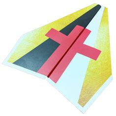 Based on the same colors as the popular Wordless Book, this gospel presentation idea uses paper airplanes to share the message of salvation with children. Bible Story Crafts, Bible Crafts For Kids, Bible Study For Kids, Vbs Crafts, Book Crafts, Teen Crafts, Kids Bible, Sunday School Lessons, Sunday School Crafts