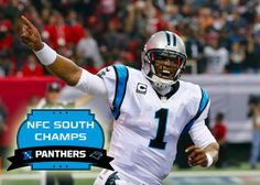 Panthers clinch the division and a first-round bye.