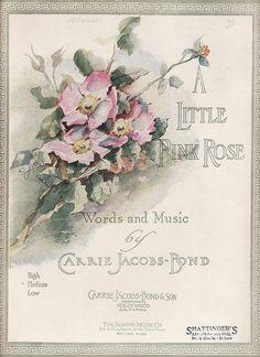 A Little Rose sheet music