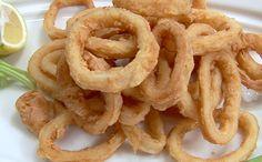 Deep Fried Squid Rings (Frittura di calamari)