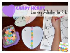 Lots of Learning Activities to Do with Candy Hearts