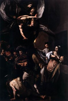 Caravaggio The Seven Acts of Mercy Masters of Art: Caravaggio (1571 1610)