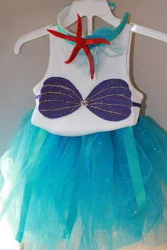 My Little Mermaid Costume/Outfit - Perfect for her to dream that she is Ariel. on Etsy, $54.02