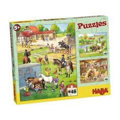 "Dėlionė ""Žirgų ferma"" Peanuts Comics, Puzzles, Comic Books, Baseball Cards, Products, Kids, Puzzle, Drawing Cartoons, Comic Book"