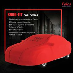 Polco S Series Car Covers | Stretchable Fabric | Ultimate Indoor Protection | Scratch Resistant etc..  Know more: www.polcoindia.com  #safelyrakho #polcocover