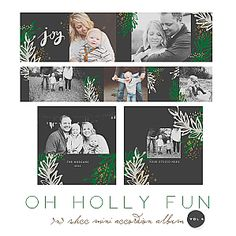 Oh Holly Fun 3x3 WHCC Accordion vol 4 by Oh Snap Boutique
