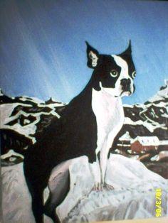 Bernie.  Alps.  Pet portrait.  2004