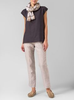 Livin up your casual style by elevating your wardrobe basics with the addition of this upscale shirt.
