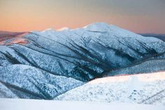 The Australian Alps. Mount Feathertop is the second-highest mountain in Victoria, and part of The Australian Alps, a stunning mountain range that spans three National Parks across Victoria, New South Wales and the ACT.