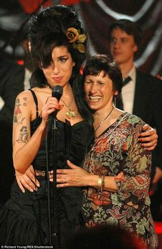 Amy and her mother