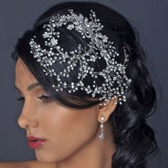 Simply irresistible! This stunning hand wired twigs ribbon bridal hair comb is decorated with dozens of sparkling clear rhinestones encrusted in rhodium plating. - See more at: http://www.kimsgiftbaskets.com/rhodium-comb.html#sthash.oV4S3dER.dpuf