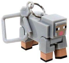 Minecraft Series 2 Ghast 3D Keyring Key ring Bag Hangers Mine Craft Toy Figures