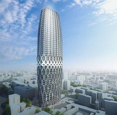 Dorobanti Tower 2008 Bucharest, Romania - Zaha Hadid