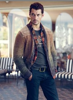 Fall/Winter 2012 Catalog Lucky Brand Model: David Gandy