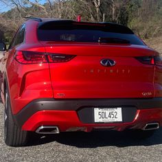 One special day with the 2022 Infiniti QX55, a sporty utility vehicle that sets this brand on a new path. Trends Magazine, Paths, Sporty, Vehicles, Car, Automobile, Autos, Cars, Vehicle