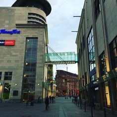 In the streets of Dortmund #blue #city #sightseeing #shopping #ruhryork #urbanstreet #bridge