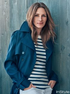 Recreate Julia Robert's Classic Nautical-Inspired Look with 5 Pieces from InStyle.com