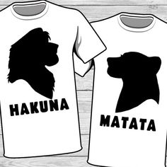 Disney couple iron on... Lion king... how cute would this be?? Disney matching shirts